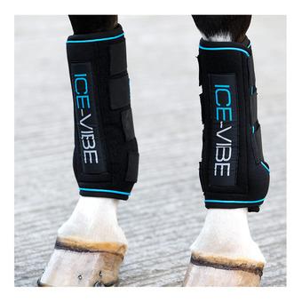 Ice-Vibe by HW Boot LED Unisexe Black/Aqua