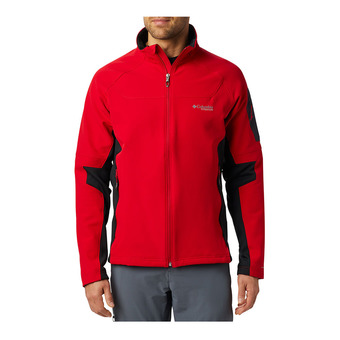 Columbia TITAN RIDGE 2.0 - Chaqueta softshell hombre mountain red/black