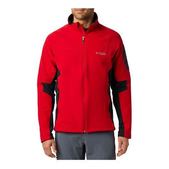 Columbia TITAN RIDGE 2.0 - Giacca softshell Uomo mountain red/black