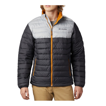 Columbia POWDER LITE - Anorak hombre shark/columbia grey