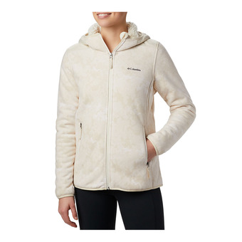 Columbia WINTER PASS - Polar mujer chalk clouds camo print/chalk
