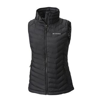 Powder Lite Vest-Black Femme Black