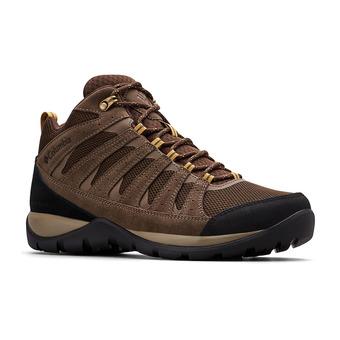Columbia REDMOND V2 MID WP - Chaussures randonnée Homme cordovan/baker