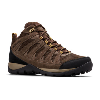 Columbia REDMOND V2 MID WP - Zapatillas de senderismo hombre cordovan/baker