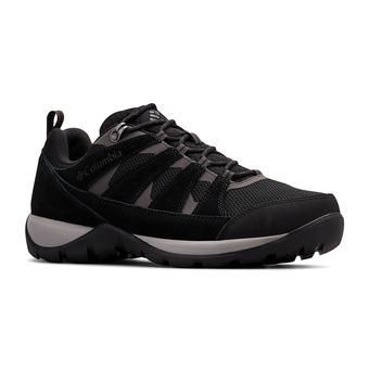 Columbia REDMOND V2 WP - Zapatillas de trail hombre black/dark grey