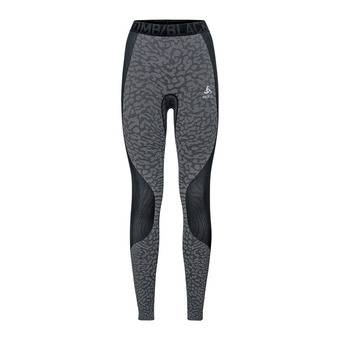 Odlo BLACKCOMB - Collant Femme black/odlo steel grey/silver