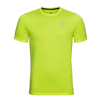 T-shirt MC ELEMENT Light Homme safety yellow