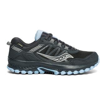 Saucony VERSAFOAM EXCURSION TR13 GTX - Zapatillas de trail mujer black/blue