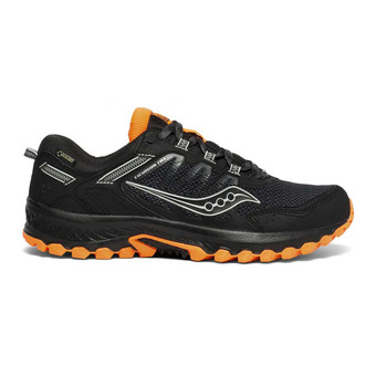 Saucony VERSAFOAM EXCURSION TR13 GTX - Chaussures trail Homme black/orange