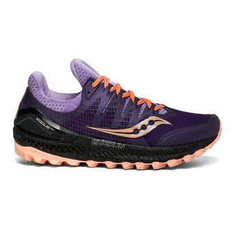 Saucony XODUS ISO 3 - Zapatillas de trail mujer  purple/peach