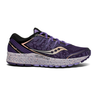 Saucony GUIDE ISO 2 TR - Trail Shoes - Women's - purple