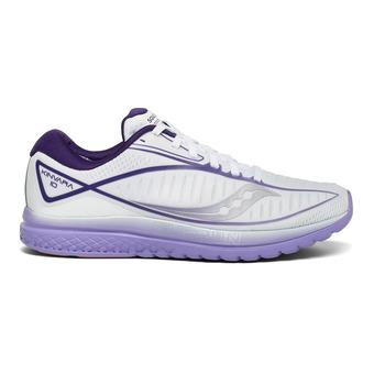 Saucony KINVARA 10 - Zapatillas de running mujer white/purple