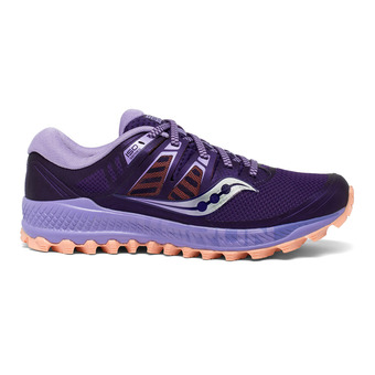 Saucony PEREGRINE ISO - Chaussures trail Femme purple/peach