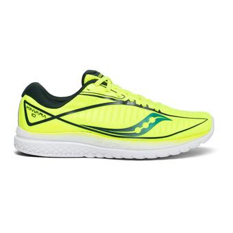 Saucony KINVARA 10 - Zapatillas de running hombre citron/teal