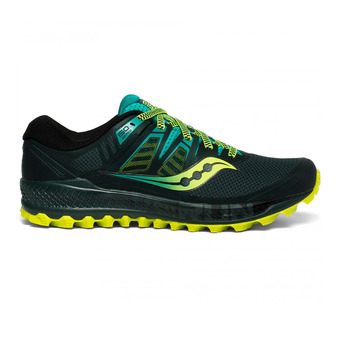 Saucony PEREGRINE ISO - Chaussures trail Homme green/teal