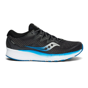 Saucony RIDE ISO 2 - Chaussures running Homme black/blue