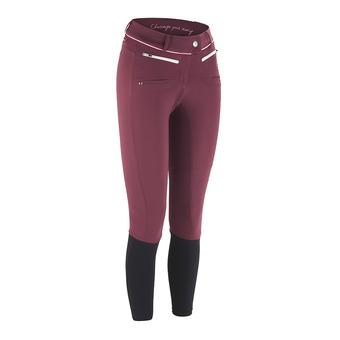 Horse Pilot X-BALANCE - Pantalon Femme burgundy