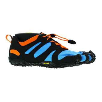 Vibram Five Fingers V-TRAIL 2.0 Homme Bleu / Orange