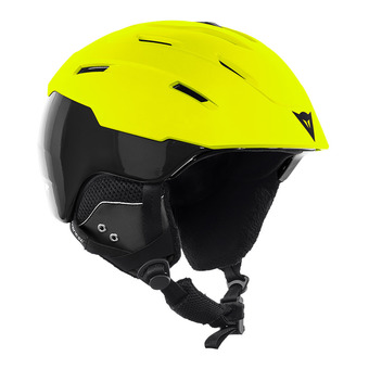 Dainese D-BRID - Casco da sci cherry lime punch/stretch limo