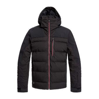 Quiksilver THE EDGE - Doudoune snow Homme black
