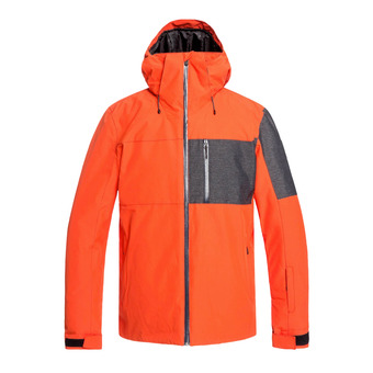 Quiksilver MISSION PLUS - Chaqueta snow hombre poinciana