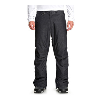 Quiksilver ESTATE - Pantalón snow hombre black heather