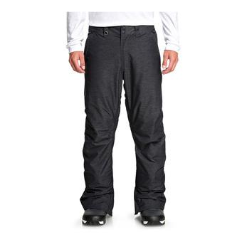 Quiksilver ESTATE - Pantaloni da snowboard Uomo black heather