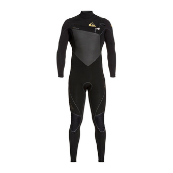 Quiksilver HIGHLINE PLUS - Traje de neopreno 4/3mm hombre black