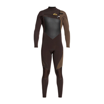 Quiksilver HIGHLINE PLUS - Traje de neopreno 4/3mm Homme velvet brown/dark b