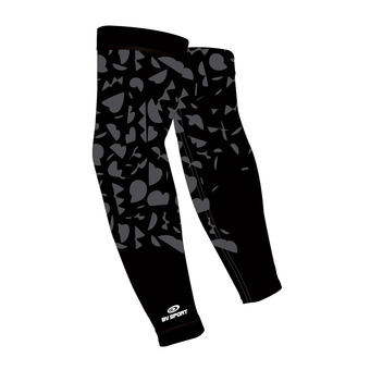 Bv Sport ARX WINTER GRAFIK - Arm Sleeves - black/grey