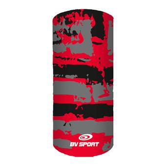 Bv Sport GRAFIK - Tour de cou noir/rouge