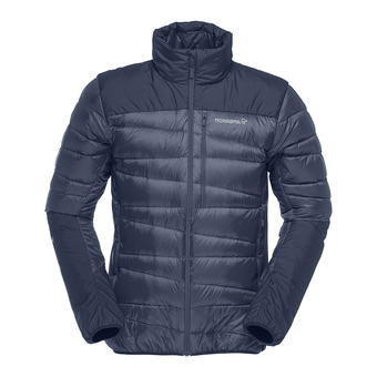 falketind down Jacket (M) Indigo Night Homme