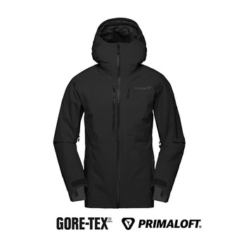 lofoten Gore-Tex insulated Jacket (W) Caviar Femme