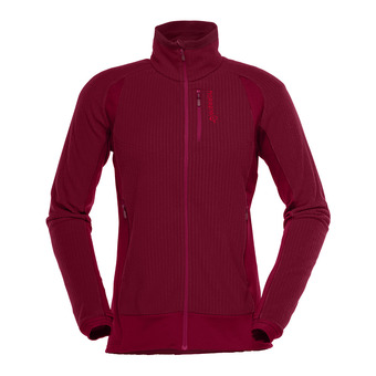 lofoten warm1 Jacket (W) Rhubarb Femme