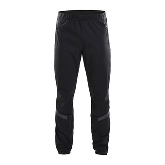 Craft WARM TRAIN - Pants - Men's - black/grey/tran