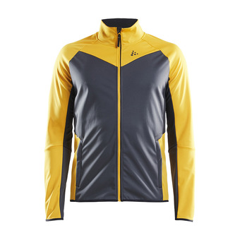 Craft GLIDE - Jacket - Men's - buzz/asphalt