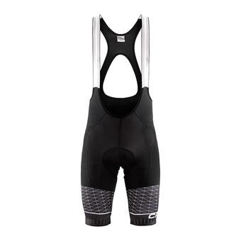 Craft ROUTE THERMAL - Pantaloncini con bretelle Uomo black