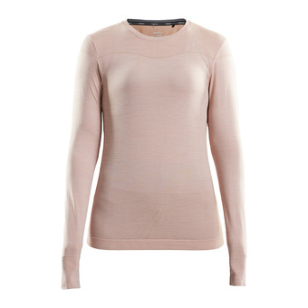 Craft FUSEKNIT COMFORT - Camiseta térmica mujer touch/chine