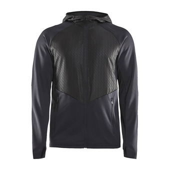 Craft CHARGE FUSEKNIT - Sweat Homme black