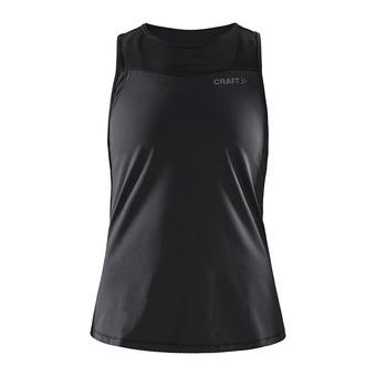 Craft CHARGE ST - Camiseta de tirantes mujer black