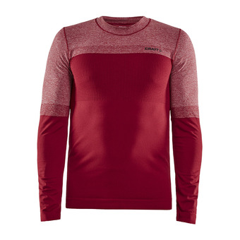 Craft WARM INTENSITY - Sous-couche Homme rhubarb/black