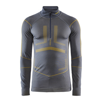 Craft ACTIVE INTENSITY - Maglia termica Uomo asphalt/buzz