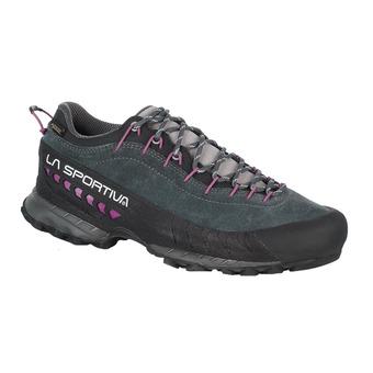 La Sportiva TX4 GTX - Zapatillas de aproximación mujer carbon/purple