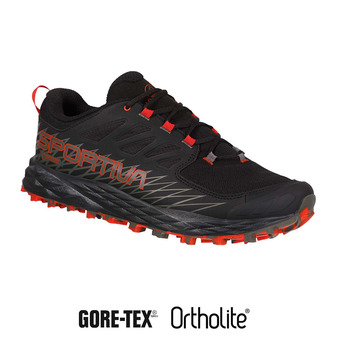 La Sportiva LYCAN GTX - Chaussures trail Homme black/poppy