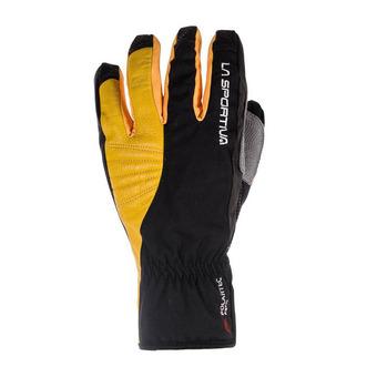 La Sportiva TECH - Guantes black/yellow
