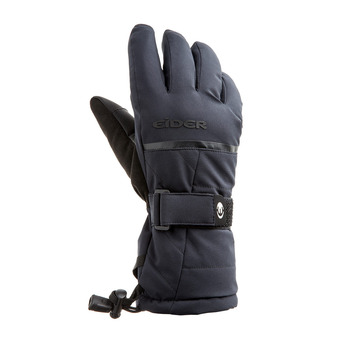 THE ROCKS GLOVE W Femme BLACK - NOIR
