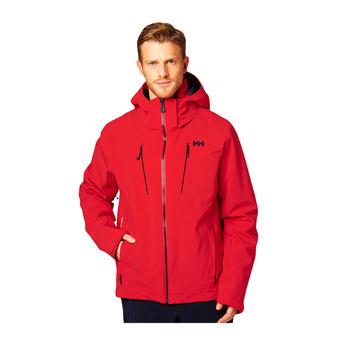 Helly Hansen ALPHA 3.0 - Ski Jacket - Men's - alert red