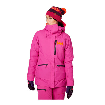 Helly Hansen W SHOWCASE - Chaqueta de esquí mujer dragon fruit