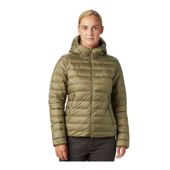 Mountain Hardwear RHEA RIDGE HOODY - Anorak mujer light army