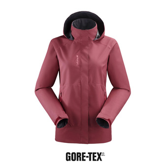 Lafuma WAY GTX ZIP-IN - Chaqueta mujer cherry